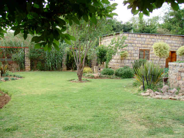 Gardens at Rear of House